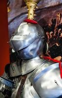détail d'armure médiévale photo