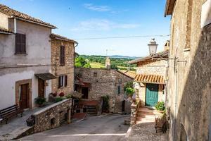 le village de portaria dans la municipalité d'acquasparta, ombrie, italie, 2020 photo