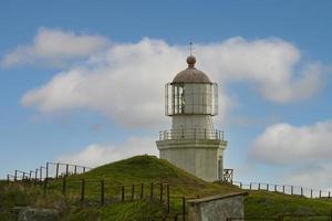 paysage avec vue sur l'ancien phare. photo