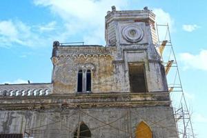 paysage urbain à l'architecture ancienne. Soukhoumi, Abkhazie photo