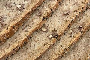 gros plan prêt à manger du pain frais photo