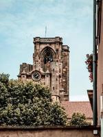 Cathédrale de la cité médiévale de Rouffach en Alsace, France photo