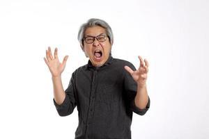 homme asiatique senior photo