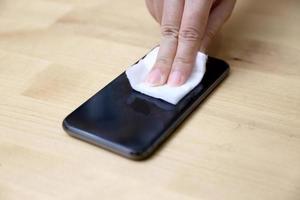 nettoyer un smartphone photo