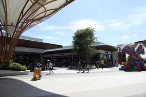 Bangkok, Thaïlande, 28 juin 2020 - centre commercial situé près de l'aéroport de Suvarnabhumi photo
