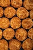 délicieux biscuits aliments sur fond de papier photo