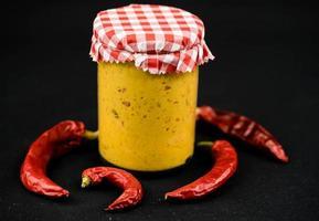 moutarde extra forte maison au piment photo