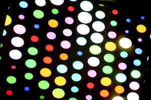 ampoules disco multicolores photo