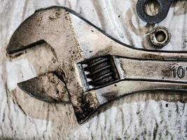 outil de réparation d'un moteur diesel à combustion interne photo