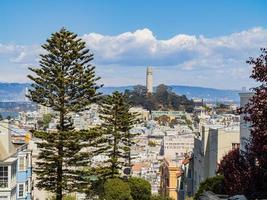 paysage urbain de san francisco, californie, usa photo