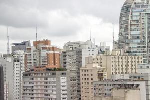 bâtiments du centre ville de sao paulo photo