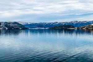 le bras est de la baie de bonne. Parc national du Gros-morne, Terre-Neuve, Canada photo