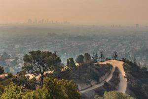 célèbre observatoire griffith à los angeles californie photo