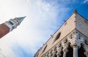 Venise, Italie - détail du palazzo ducale photo