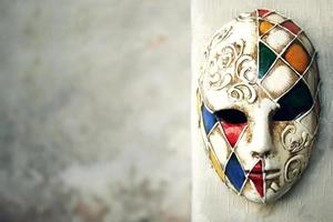 fond de masque vénitien photo