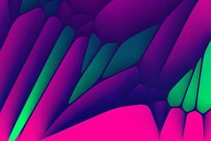 graphiques abstraits de forme de tessellation de voronoi photo