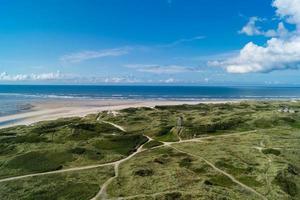le blavand danois du point de vue du vieux phare célèbre photo