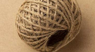 la composition de la texture de la corde rugueuse photo