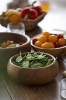 la composition différents ingrédients délicieux photo