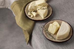 la délicieuse composition de fromage paneer photo