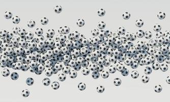 composition vue de dessus avec ballons de basket photo