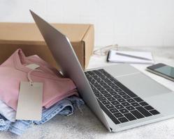 concept de magasinage en ligne photo