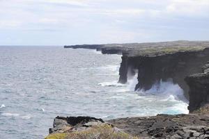 arche de la mer de holei, grande île d'hawaï photo