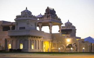 temple hindou à aurora il 2017 photo