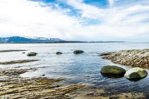 le sentier de la plage steve. Parc national du Gros-morne, Terre-Neuve, Canada photo