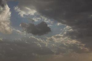 nuages fous en israël belles vues sur la terre sainte photo