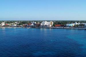 port de san miguel, cozumel mexique photo
