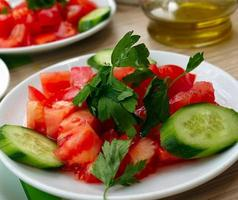 table de petit déjeuner traditionnel turc photo