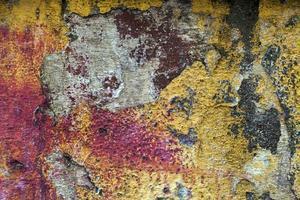 surface de mur de pierre fissurée abstraite vieux grunge photo