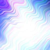 texture de vecteur rose clair, bleu avec arc circulaire. photo