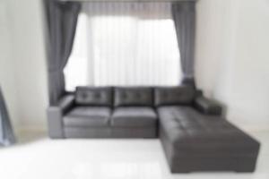 flou abstrait dans le salon pour le fond photo