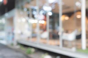 flou abstrait au café pour le fond photo