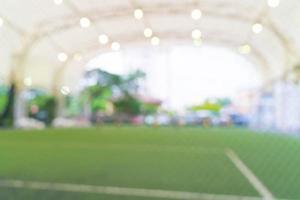 terrain de football flou abstrait photo