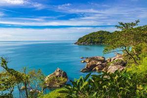 fantastique belle vue panoramique silver beach koh samui thailande. photo