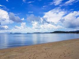 plage de bo phut sur l'île de koh samui, surat thani, thaïlande. photo