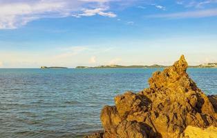 côte de la plage de l'île de koh samui, thaïlande photo