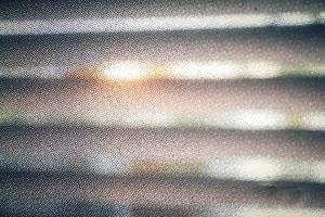 grille à motif hexagonal photo