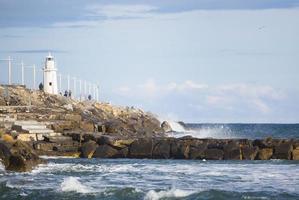 paysage de la côte ligure photo