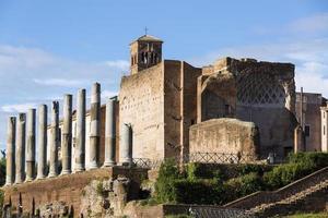 le forum à rome, italie photo