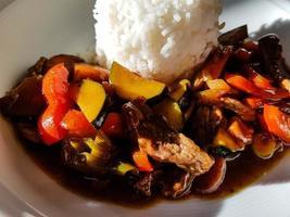 curry frais traditionnel d'asie photo