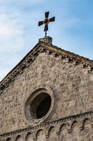 détail de l'église de san francesco in terni photo