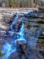 Parc national des chutes athabaska Jasper alberta canada photo
