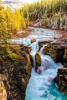Sunwapta Falls Jasper National Park alberta canada photo