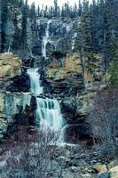 Tangle Creek Falls Jasper National Park alberta canada photo