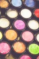 palette de maquillage multicolore photo