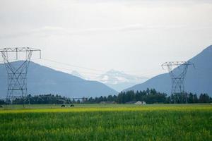 vaste paysage du montana grand ouvert en été photo